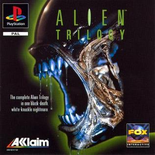 Alien Trilogy Playstation cover art