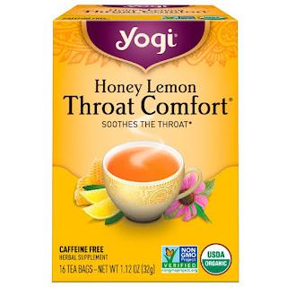 شاي التهاب الحلق