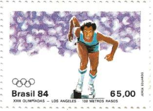 Selo 100 metros rasos, Los Angeles 1984