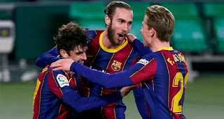 Barcelona players rating in Betis win with Messi 9, Pjanic 4.5