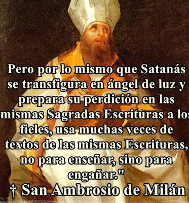 San Ambrosio de Milan enseñanzas