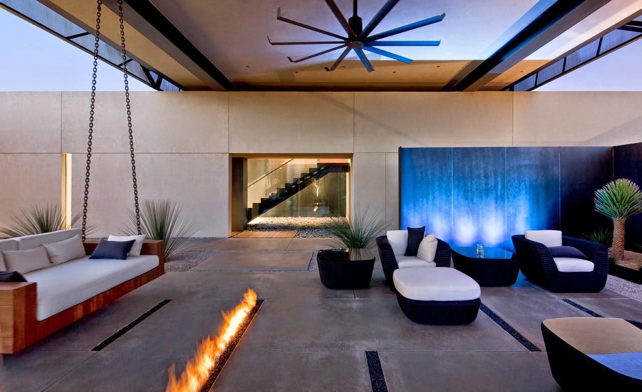 Consejos para decorar jardines en terrazas y balcones for Casas modernas con interiores contemporaneos