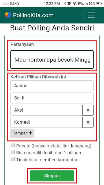Cara Membuat Polling di Whatsapp - 2