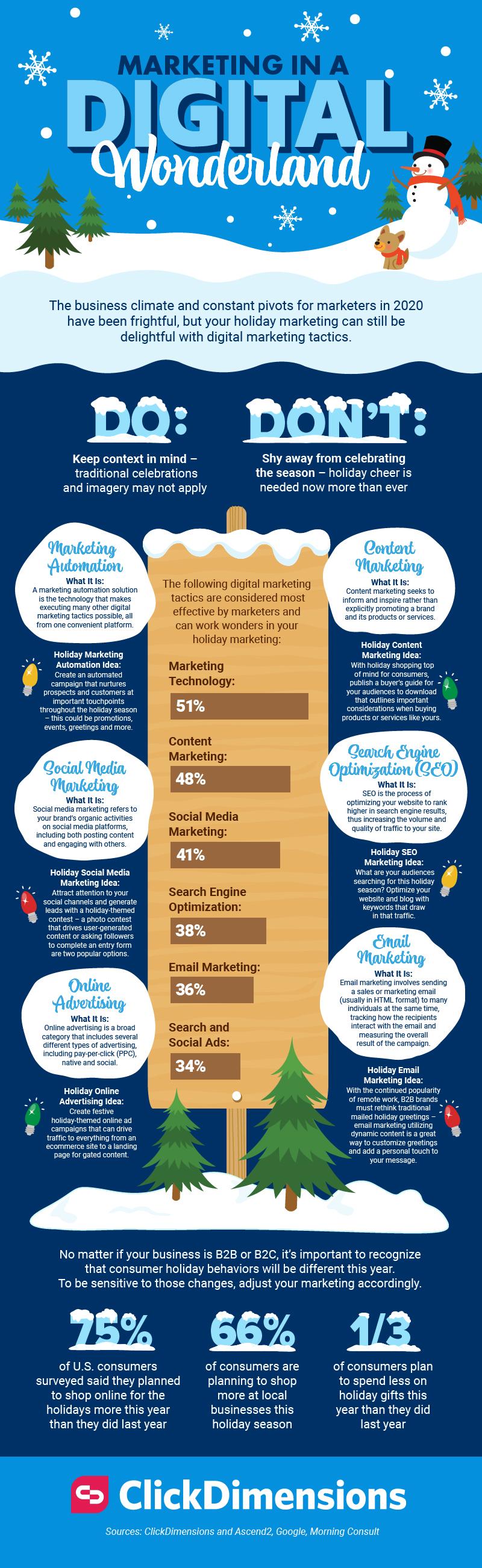 Marketing in a Digital Wonderland #infographic #Marketing #Digital Marketing