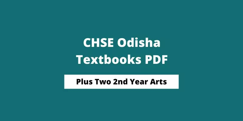 CHSE Odisha Plus Two 2nd Year Economics Book PDF | +2 Arts Books 2021