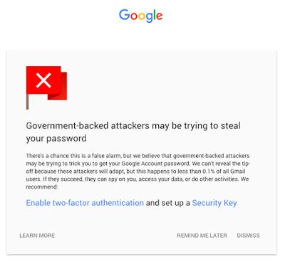 La solución de Google a los enlaces potencialmente peligrosos