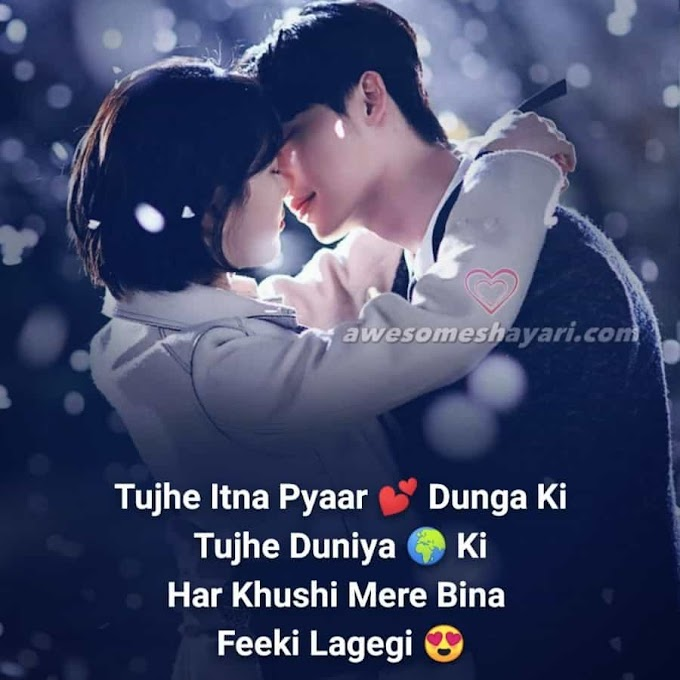 100+ Best Love Shayari Images, New Romantic Love Shayari For Girlfriend Boyfriend