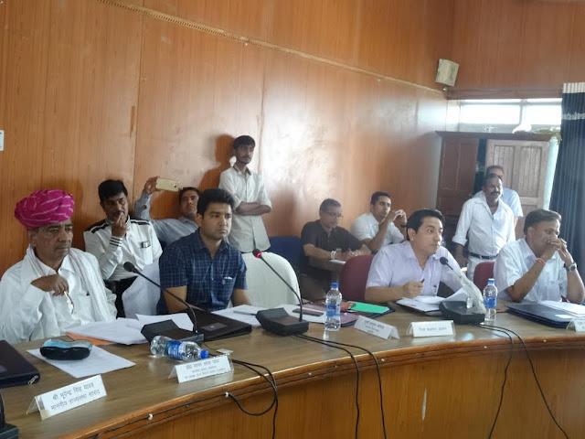 Ajmer, Ajmer MP, Sanwar Lal Jat, Ajmer Collector, Gaurab Goyal, Meeting