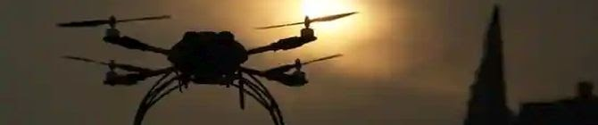 Pakistani Drone Spotted In Punjab's Bamial, Returns After BSF Opens Fire
