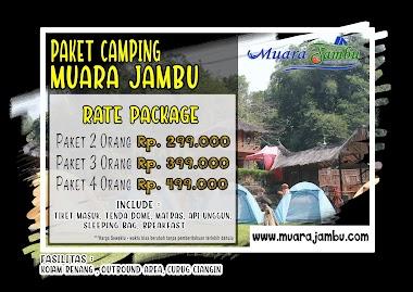 PAKET CAMPING MUARA JAMBU CIATER