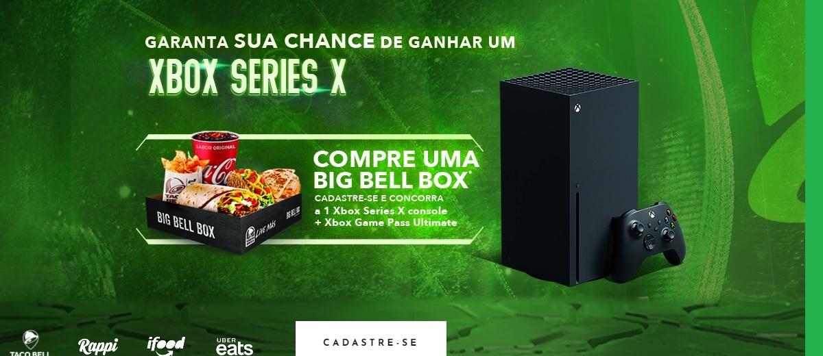 Participar Promoçao Taco Bell 2021 Xbox Series X + Game Pass - Cadastrar e Sorteio
