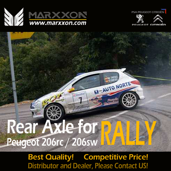 Peugeot Citroen Rear Axle-Driveshaft-Differential-Marxxon Machinery