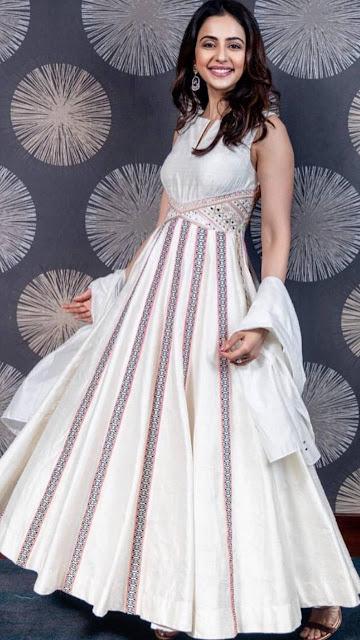 Actress Rakul Preet Singh Latest HD Images & Pleated Kurta Pictures