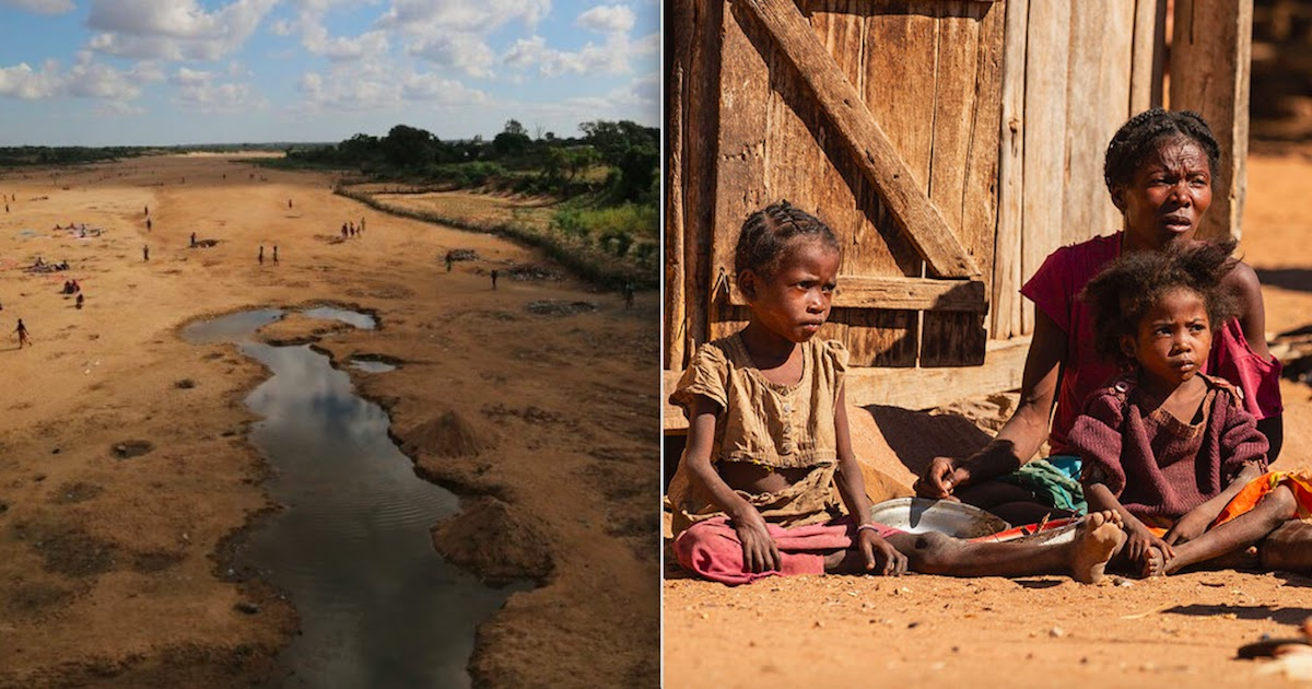 The World's First Famine Caused Entirely By Climate Change Is Being Experienced In Madagascar