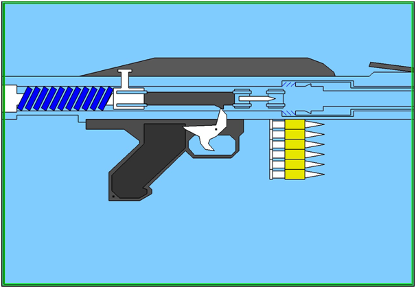Computer Graphics Projects On Machine Gun Recoil System