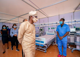 Lagos State Government Shut Down COVID-19 Isolation Center As  Virus Cases Reduce