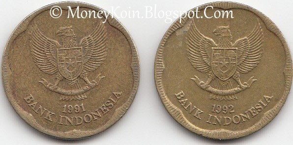 Gambar Uang Koin 500 Rupiah Koleksi Uang Kuno Koin 500 Rupiah 1991 Dan 1992 Bunga Melati