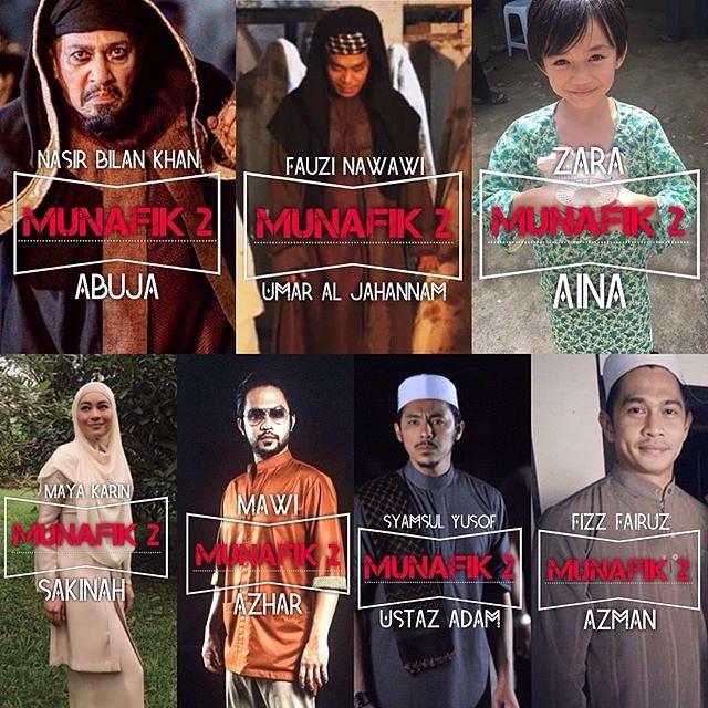 pelakon filem munafik 2