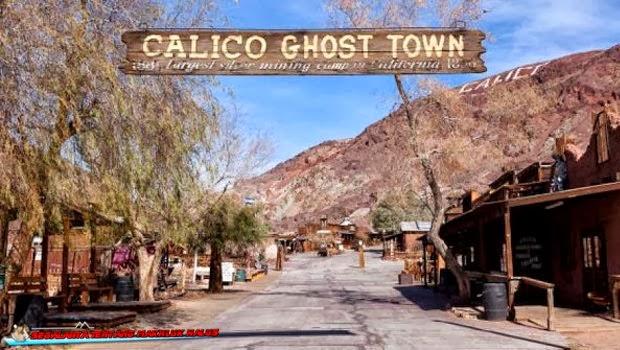 Kota Tambang Tua Calico yang Paling Berhantu
