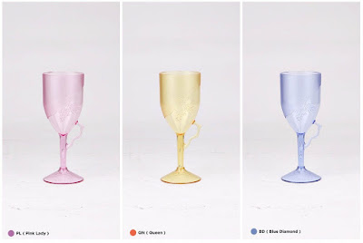 Crystal Glass Tulipware