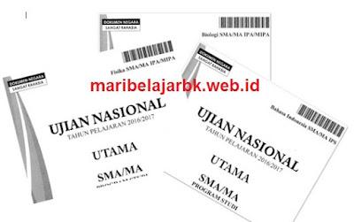 Download soal Ujian Nasional 2019 untuk persiapan UNBK 2020