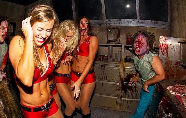 Howl O Scream Halloween No Busch Gardens Em Orlando