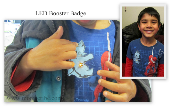 led booster badge