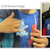 Children Activities: How to Make your own LED Booster Badge