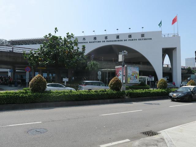 MACAU : opposite the Bus terminal