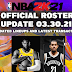 NBA 2K21 OFFICIAL ROSTER UPDATE 03.30.21 LATEST TRANSACTIONS+LINEUPS UPDATES