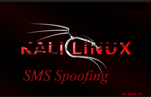 SMS Spoofing using KALI...