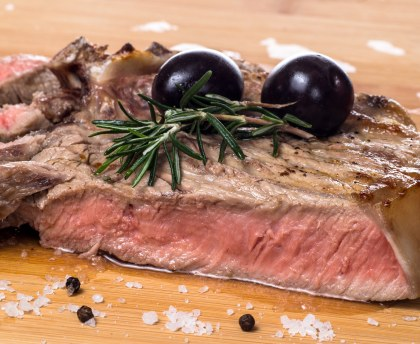 Beef with olives