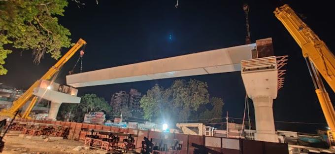 कानपुर मेट्रो : रावतपुर तिराहे पर हुआ ये बदलाव