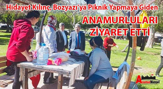 Hidayet-Kilinc,-Bozyazi'ya-Piknik-Yapmaya-Giden-Anamurlulari-Ziyaret-Etti