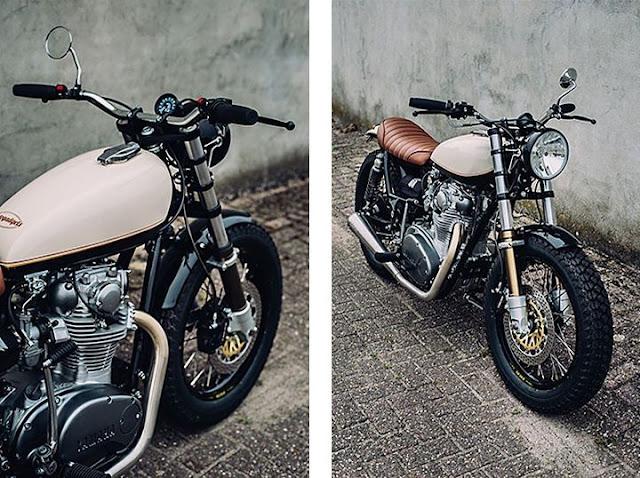Yamaha XS650 Street Tracker - Giản dị nhưng đầy tinh tế