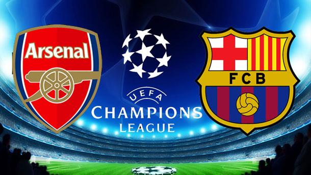 El FC Barcelona quiere sacar un buen resultado del Emirates