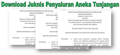 Download Juknis Penyaluran Aneka Tunjangan 2018