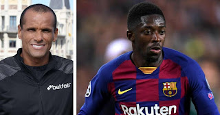 Barcelona Legend Rivaldo furious with Dembele refusal to join Manchester United