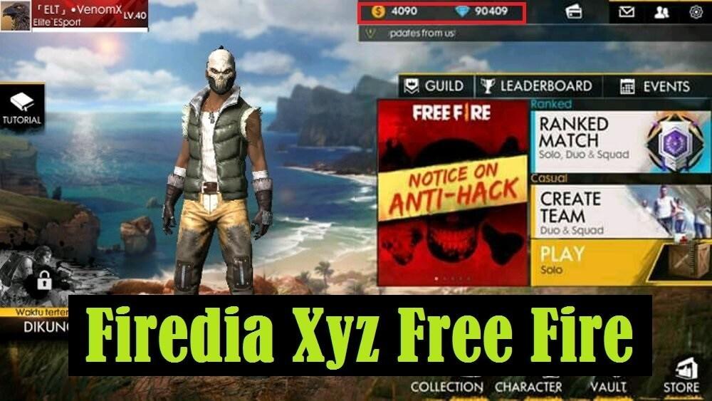 Firedia Xyz free fire