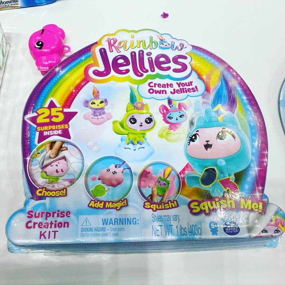 Сквиши сюрпризы Rainbow Jellies новые игрушки 2020