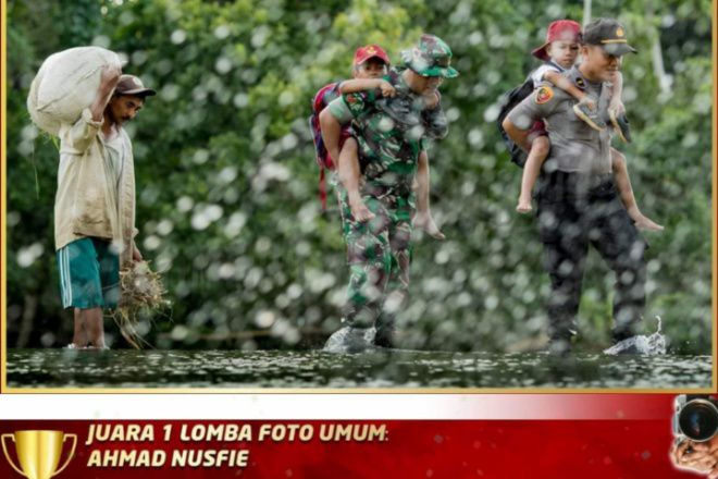 Peserta Asal Bone Sabet Juara 1 Kategori Umum Lomba Foto HUT Bhayangkara Ke-73