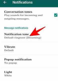 Whatsapp me custom ringtone use kaise kare 8