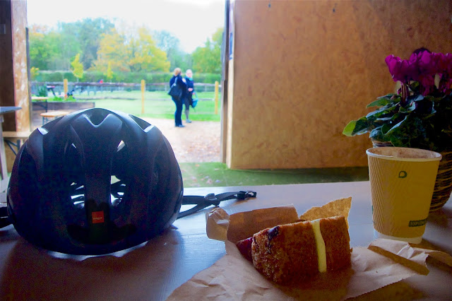 cake and coffee Tanhouse Farm