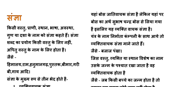 Hindi Grammar PDF Download