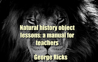 Natural history object lessons: a manual for teacher