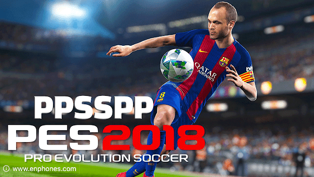 Download and install PES 2018 PSP for android