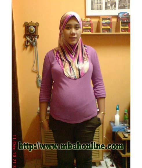 Indonesia ibu jilbab tudung depan webcam - 1 1
