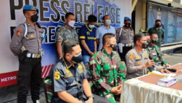 Pelaku Pembunuh Anggota TNI di Depok Minta Maaf Atas Perbuatannya