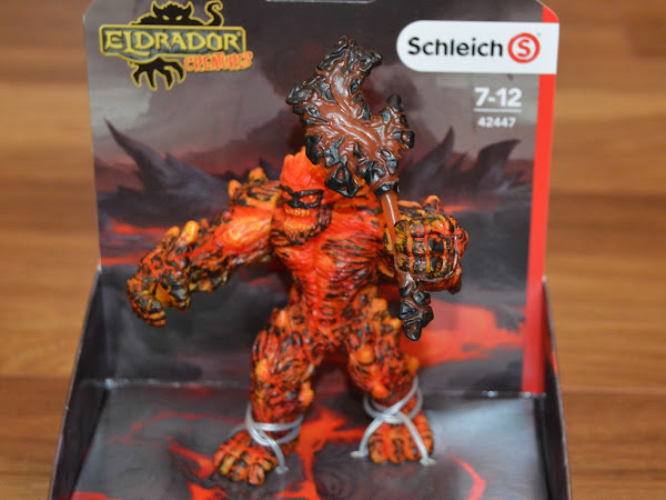 Review | Schleich Eldrador Creatures, Lava Golem