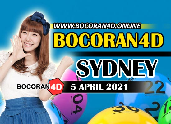 Bocoran Togel 4D Sydney 5 April 2021